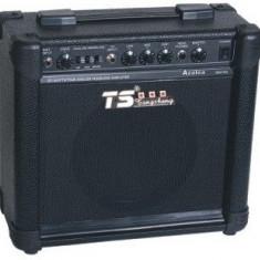 BOXA ACTIVA PT.KARAOKE SAU INSTRUMENTE, PUTERE 250W P.MP.O, EQ+MICROFON WIRELESS. - Echipament karaoke Altele