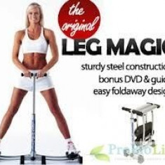 Bicicleta fitness - LEG MAGIC, aparat de fitness pentru picioare si fese