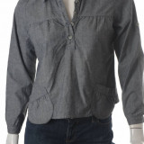 Bluza bumbac cu aspect denim Volcom Brand Jeans, marime S