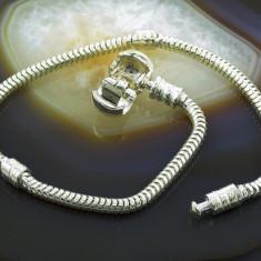 Bratara argint - Baza Bratara din Argint 925, pentru Charm-uri, cod 480
