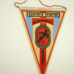 MCF - FANION - CLUBURI - ASOCIATIA SPORTIVA METALURGISTUL - SADU - Fanion fotbal