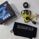 Mulineta Diamant Alb CA 3000, tambur metalic, 6 rulmenti