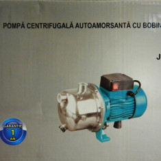Pompa gradina, Pompe de suprafata - Pompa de apa de suprafata 1.5KW JET 100SS bobinaj cupru capac INOX