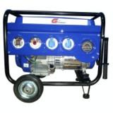 Generator curent - Gpower Generator GP6600 WH, 5.6 kW, 13 CP, benzina, start manual + roti