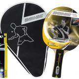 Set Paleta Tenis de Masa, Donic, Waldner Level 500 + Husa + Set 3 Mingi - OLN-ONL1-788700