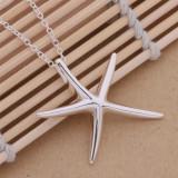 Set bijuterii argint - Set Argint 925 - lantisor si cercei - Stea de Mare 1