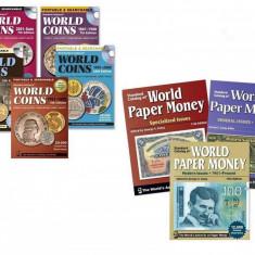 13 cataloage numismatice, bancnote si monede, Pick Krause, format pdf