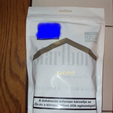 Tutun Pentru tigari de foi - Tutun marlboro gold 110g