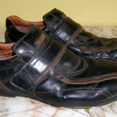 Pantofi barbati marca Bugatti interior exterior piele marimea 44 (P330_1)