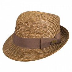 Best Price 16466458 - Palarie Kangol Wheat Braid Arnold Tan(Masura : L) - Palarii Barbati