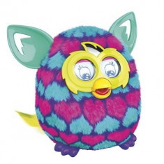Jucarii - Jucarie Furby Boom Pink And Blue Hearts A6118