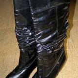 Cizme de dama marca Barisal marimea 40 (E15_1) - Cizme dama, Culoare: Negru