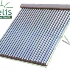 Sistem panou solar cu tuburi vidate HELIS 100L - Panouri solare