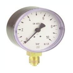 Centrala termica - Manometru cu tub Bourdon RF100 plastic D1010-10 bar