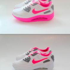 Adidasi Nike Air MAx - Adidasi dama, Marime: 37, 39, 40, Culoare: Alb, Roz