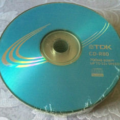 Set 25 PACK CD - R80 marca tdk, 700 MB, 52 x max speed / 80 min