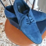 Pantofi barbati - Pantofi din piele intoarsa