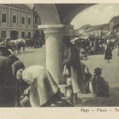 LIPOVA, ARAD, PIATA - Carte Postala Crisana dupa 1918, Necirculata, Printata