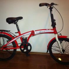 Bicicleta Pliabila de 20 inch Velors - Bicicleta pliabile, 19 inch, Numar viteze: 1