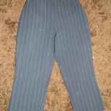 A Pantaloni de stofa, dama, treisferturi. Marimea M- 38, eleganti, business