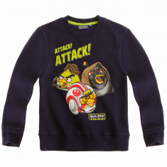 Pulover Angry Birds Star Wars denim