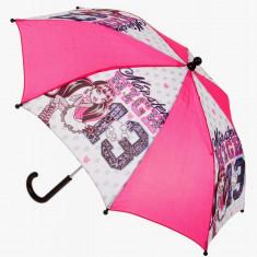 Umbrela Monster High roz/alb - Umbrela Copii