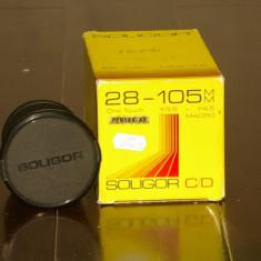 Obiectiv Soligor 28-105mm montura Pentax -K - Obiectiv DSLR