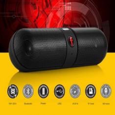 Boxa wireless Bluetooth, slot card SD – tip capsula