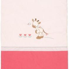 Paturica Pentru Copii Girafa Charlotte - Lenjerie pat copii Nattou