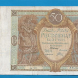 bancnota europa - Polonia 50 zloti 1929 6