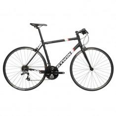 Cursiere, 24 inch, Numar viteze: 21, 28 inch - Bicicleta sosea BTWIN Triban 500 flatbar, marimea XL - NOUA