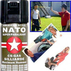 Spray de autoaparare cu piper Nato - Spray paralizant
