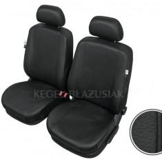 Huse scaune auto imitatie piele Audi 100 Set huse Fata - Husa Auto