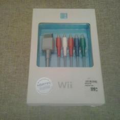 Cablu Component Wii - pentru HD TV, Cabluri