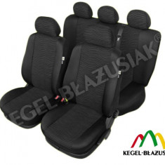 Set huse scaune auto Black Sea pentru Hyundai I10 - Husa Auto