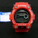 CEAS CASIO G-SHOCK DW-7900 CARNIN RED EDITION-MECANISM JAPONEZ-POZE 100% REALE !