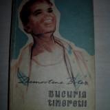DEMOSTENE BOTEZ (dedicatie/ semnatura) Bucuria tineretii, 1957