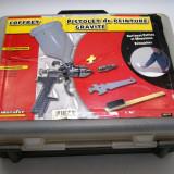Pistol de vopsit cu actionare pneumatica rezervor 600ml(101)