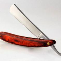 Brici retro pentru barbierit red wood