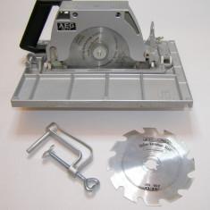 Circular de mana / adaptor pentru masina gaurit sau pneumatic AEG HK717(514) - Fierastrau circular