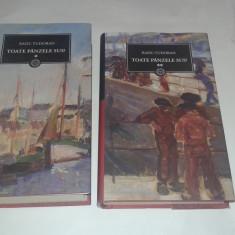 Carte de aventura - RADU TUDORAN - TOATE PANZELE SUS ! Vol.1.2.