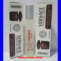 PARFUM DAMA COLECTIA FEROMON VERSACE CRYSTAL NOIR 35ML - Parfum femeie Versace, Apa de parfum