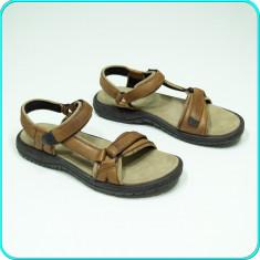 Sandale barbati - DE FIRMA _ Sandale din piele, comode, aerisite, fiabile, calitate TEVA _ nr. 40