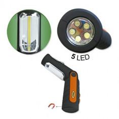 Lampa Cob Portabila Lanterna Cu Led Cu Baterie Reincarcabila 39492