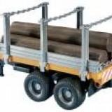 Camion - REMORCA CU 3 TRUNCHIURI DE COPAC