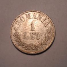 1 leu 1873 Piesa de Colectie - Moneda Romania