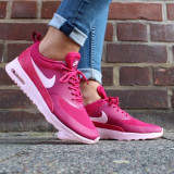 "ADIDASI ORIGINALI 100% Nike Air Max THEA ""DOUBLE PINK "" germania NR 36.5 - Adidasi dama, Culoare: Din imagine"