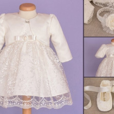 Set botez Baby Lace (Imbracaminte pentru varsta: 2 ani - 92 cm)