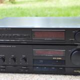 Amplificator audio Technics, 41-80W - Amplificator Technics SU-X 101 cu tuner Technics ST-X 301