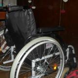 Scaun cu rotile - Carut pentru transport persoane cu dizabilitati